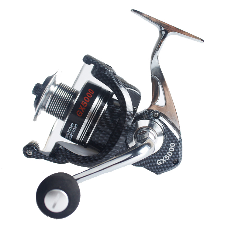 ZANLURE 4.7:1 5.5:1 13+1BB GX1000-6000 Fishing Reel Lef