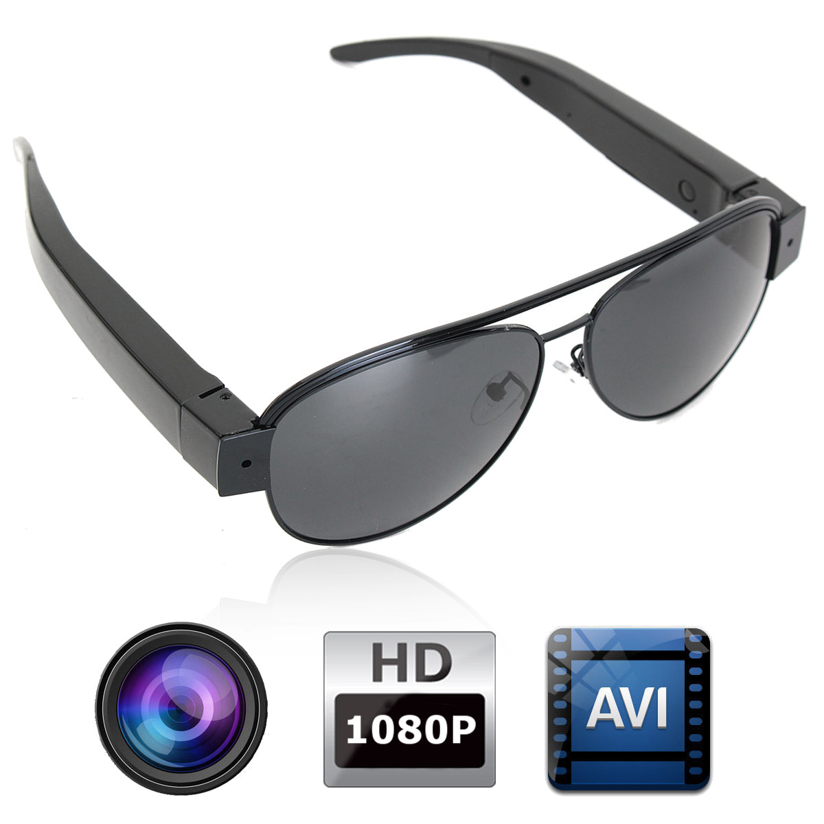 1080P Mini Hidden DV DVR Video Camera Camcorder Eyewear