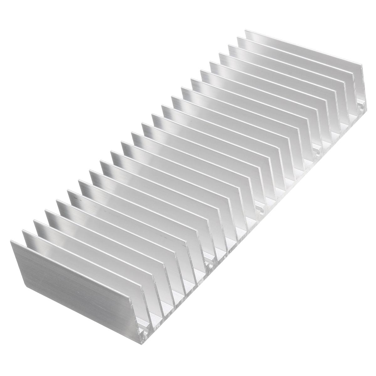 150x60x25mm Aluminum Heat Sink For Electronics Computer