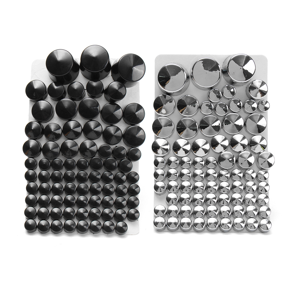 87pcsToppers Bolt Cap ABS For Harley Davidson Softail T