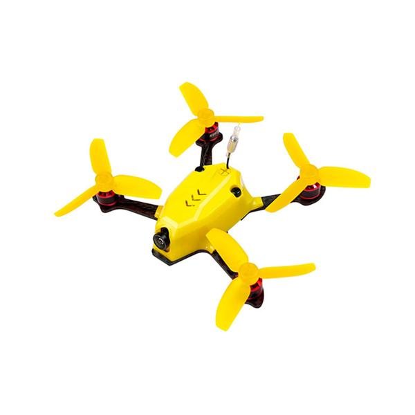 Kingkong 110GT 117mm FPV Racing Drone with F3 4in1 10A Blheli_S 25mW 16CH 800TVL  ARF BNF