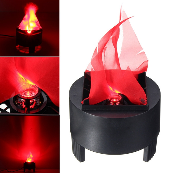 Halloween 3W Prop LED Fake Flame Lamp Torch Light Fire
