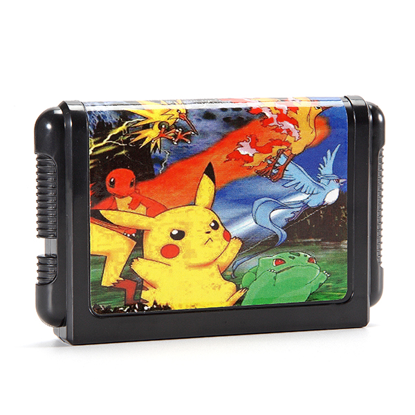 16 Bit Game Cartridges Pokemon Generation for SEGA MD2