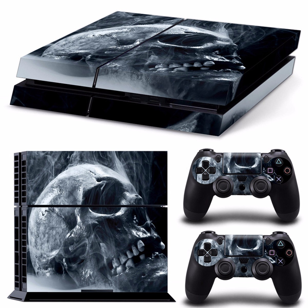 Skull Skin Style Sticker For PS4 Play Station 4 Console