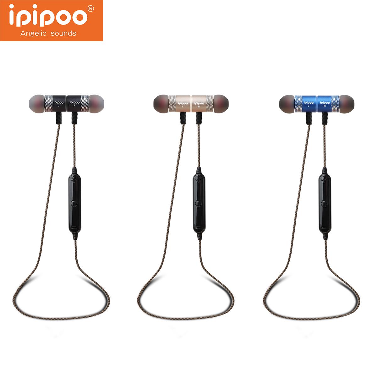Ipipoo iL95BL Wireless Bluetooth 4.2 Earphone Earbuds S