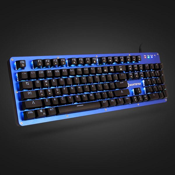 c5cdf35d6b2 Mantistek GK2 104 Keys NKRO RGB Blue Red Black Brown Switch Mechanical  Gaming Keyboard