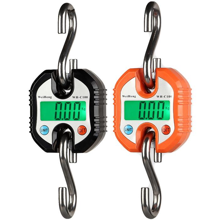 150kg 50g Durable Digital Hanging Hook Scale Crane Bala