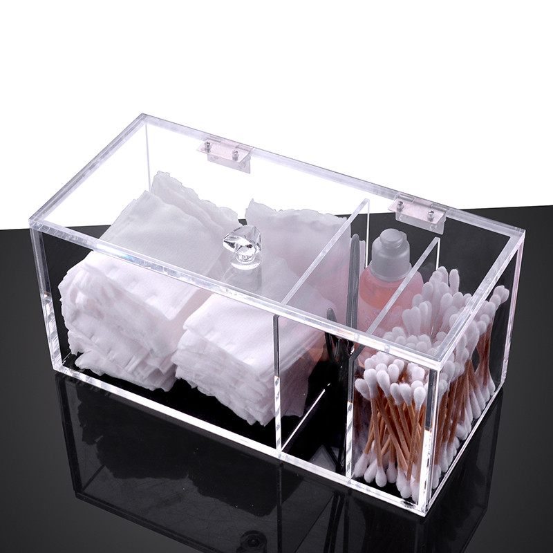 Cosmetic Organizer Clear Acrylic Makeup Drawers Holder