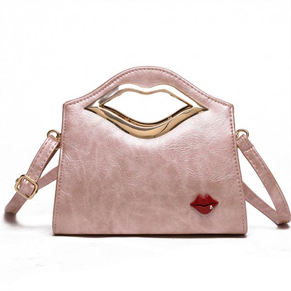 Women Lip Pattern Cute Handbags Crossbody Bag 6 Colors