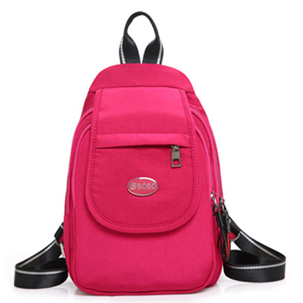 Casual Nylon Lightweight Chest Sling Bag Backpack Daily