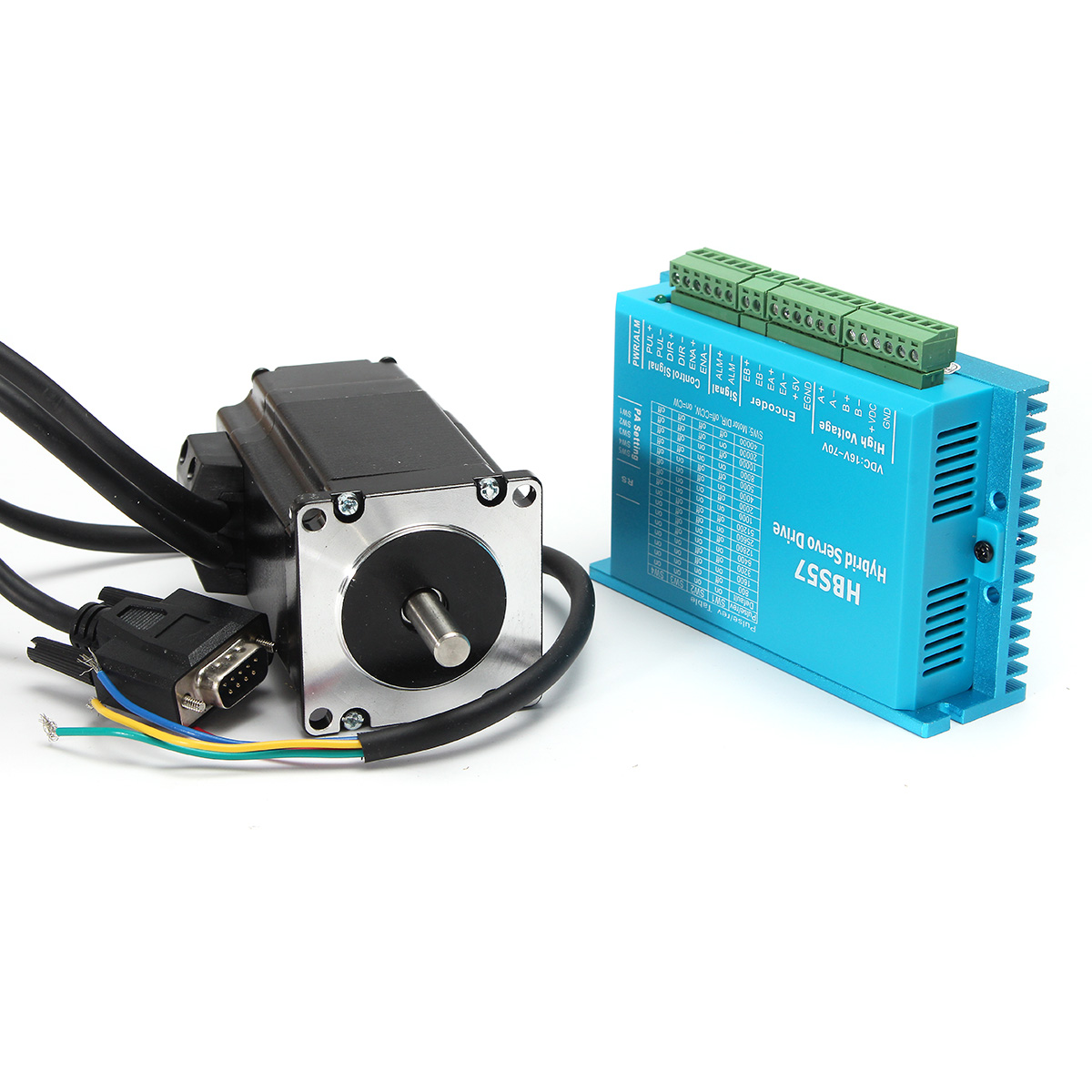 High speed closed loop stepper motor hbs57 stepper dr for High speed stepper motor