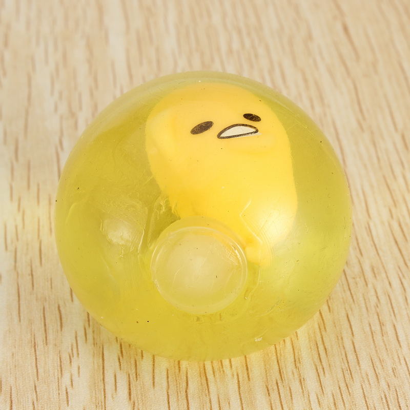 Squishy Lazy Egg Yolk Stress Reliever Toys Fun Gift Yel for sale
