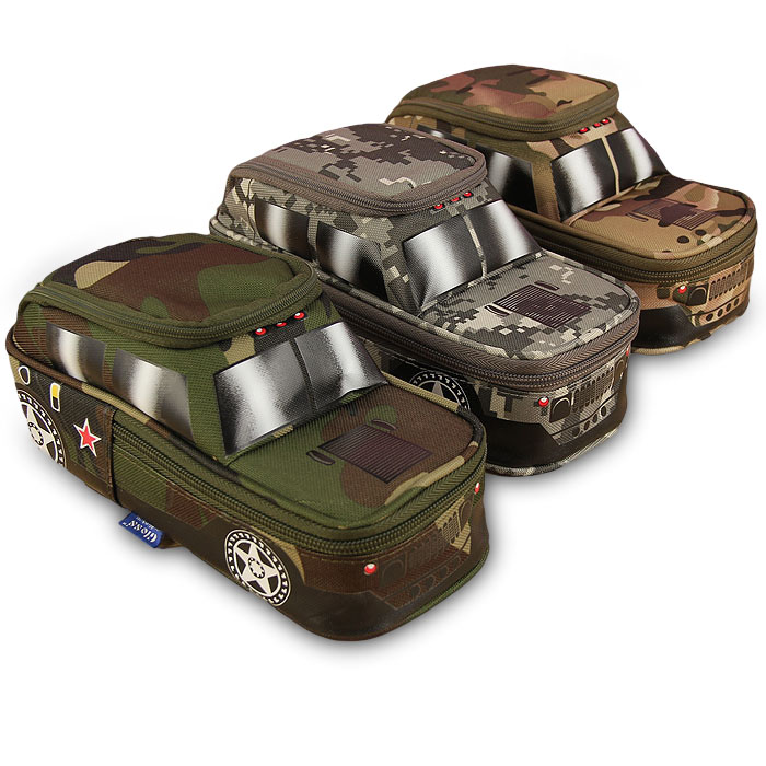 Creative Camouflage Jeep Bag Off-Road Car Tank Pen Bag