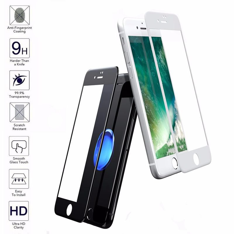 0.3mm Thickness 9H Explosion-proof Tempered Glass Screen Protector For iPhone 7 Plus