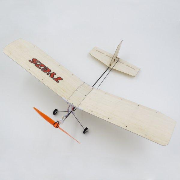 TY Model 3-2 370mm Wingspan Balsa Wood Laser Cut RC Airplane RTF