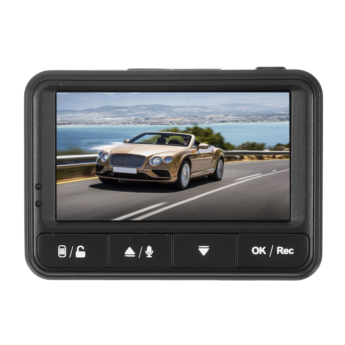 2.45 inch Car DVR Camera 170 Wide Angle Full HD 1080P N