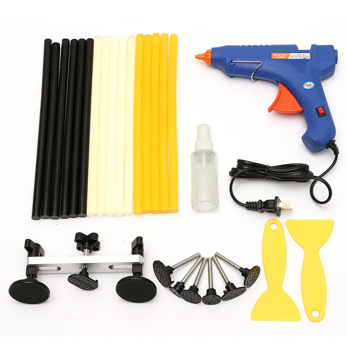 Car Paintless Dent Repair Removal PDR Tools Kit Auto Bo