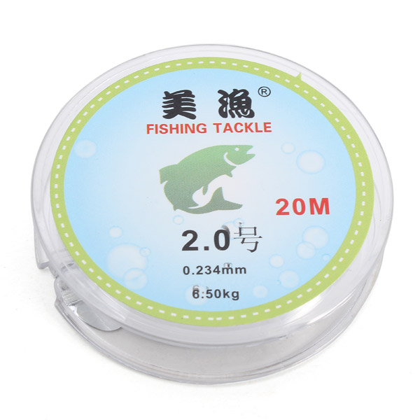 ZANLURE 20M Nylon Fishing Line Monofilament Fishing Lin