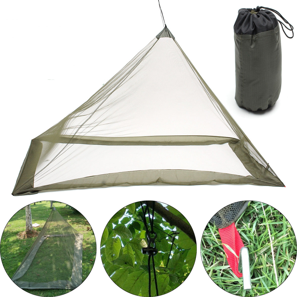 220x120x100cm Foldable Camping Hiking Tent Bed Portable
