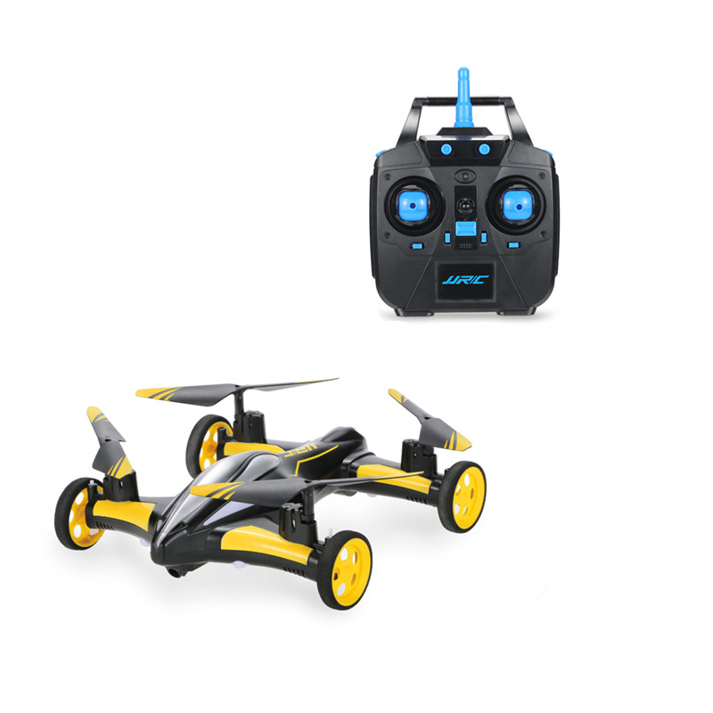 JJRC H23 2.4G 4CH 6Axis 3D Flips Flying Car One Key Return RC Quadcopter RTF