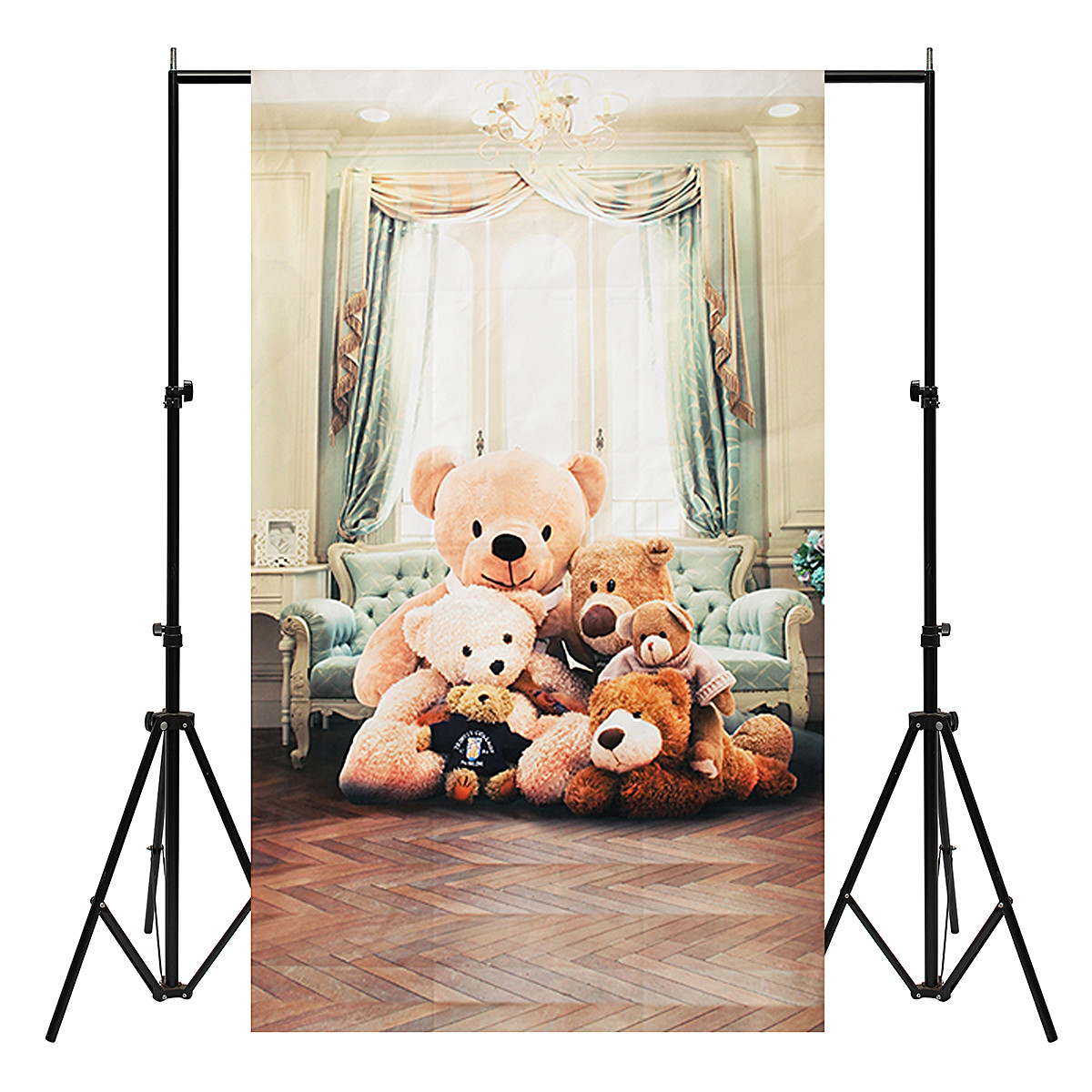 3x5ft Bear Vinyl Photography Backdrop Background Studio