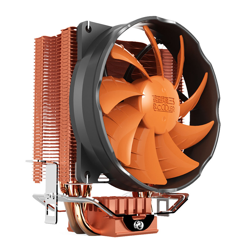 Pccooler S90H 3 Copper Heat Pipes 10cm CPU Cooler Cooli