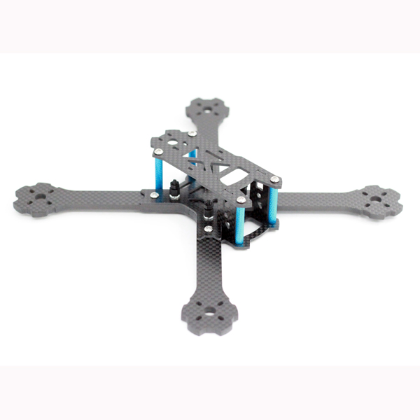 A-MAX X215 215mm Wheelbase 4mm Arm Carbon Fiber Frame Kit 89g for RC Drone FPV Racing
