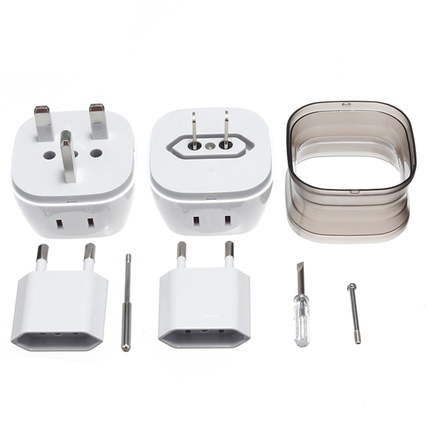 Universal World Travel Adapter Plug AC Power US UK AU E