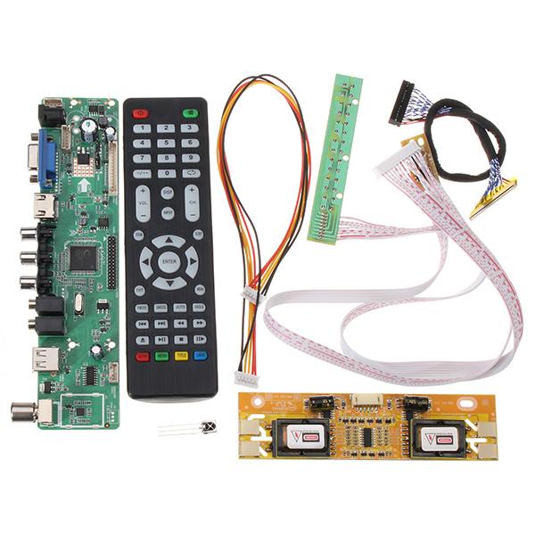 V56 Universal TV LCD Driver Board PC / VGA / HD / USB I