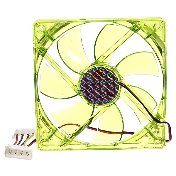 4 Pins 120x120x25mm 12v CPU Cooling Fan PC Computer Gre