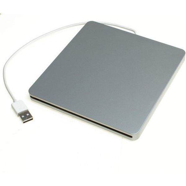 External USB2.0 Slot-in DVD-RW Drives Case for Laptop D