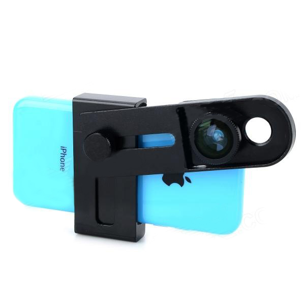 3 in 1 Wide Angle Fish Eye Macro Lens For iPhone 4 4S 5 5S 5C