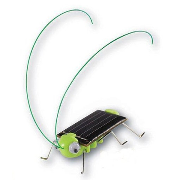 Educational Solar powered Grasshopper Toy Gadget