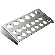 22 Holes Stainless Steel Tattoo Pigment Ink Cap Cup Holder Shelf