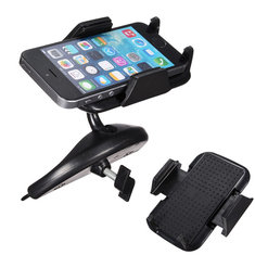 Universal Car CD Slot Mount 360 Degree Rotation Mobile Phone Holder Stand for iPhone Xiaomi Huawei Samsung