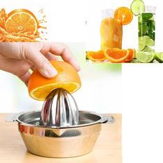 Stainless Steel Fruit Lemon Kitchen Citrus Juicer Hand Press Squeezer Tool