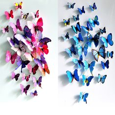 Creative 3D Stickers   Shop Best 3d Wall Art Decor Stickers Online With  Competitive Price At Banggood.com