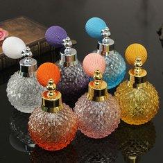 Vintage Refillable Glass Perfume Spray Empty Bottle Atomizer 110ml