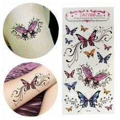 Waterproof Removable Temporary Butterfly Tattoo Sticker Body Art