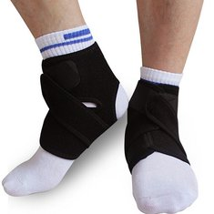 1Pcs Elastic Neoprene Ankle Protection Pad Sport Support Brace