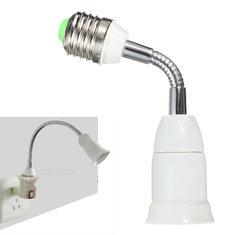 E27 To E27 Flexible Extend Base LED Light Adapter Converter Socket