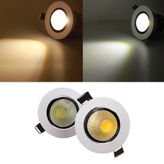 9W Dimmable COB LED Recessed Ceiling