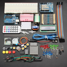 Geekcreit® UNO R3 Basic Starter Learning Kit Upgrade Version For Arduino