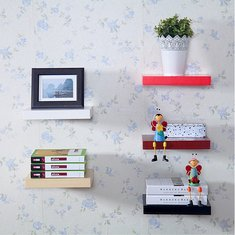 Floating Wall Shelves Hanging Shelf Display