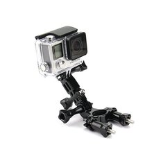 Bike Motorcycle Holder Handlebar Mount Adjustment Arm for Gopro Hero 3 4 Xiaomi Yi 4k II Accessories