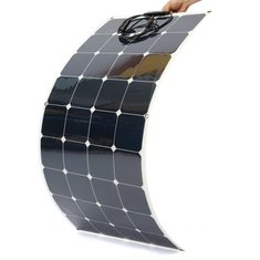 120W 20V Semi Flexible Solar Panel For RV Boat Battery Charging Caravan HQ Smart Car