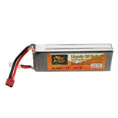 ZOP Power 14.8V 5000mah 50C 4S Lipo Battery T Plug for RC Quadcopter