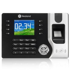 Realrand A-C071 2.4inch TCP/IP Fingerprint Attendance Access Control Time Clock Recording System