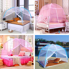 Assemble Lace Bedding Mosquito Net Dome Shape Mosquito Curtain