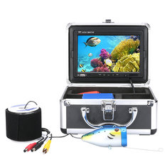 50M 7'' LCD Screen Under Water Fish Finder HD Camera Monitor Waterproof Fish Finder